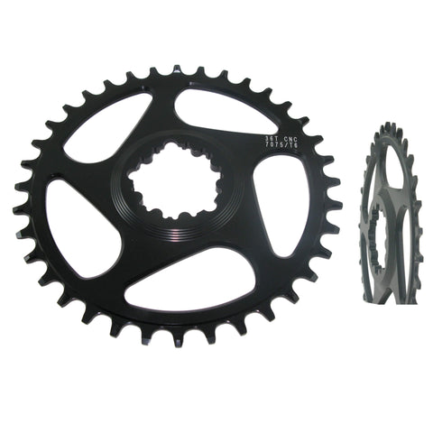 Image of Shun MTB-04 GXP Narrow Wide Direct Mount Chainring