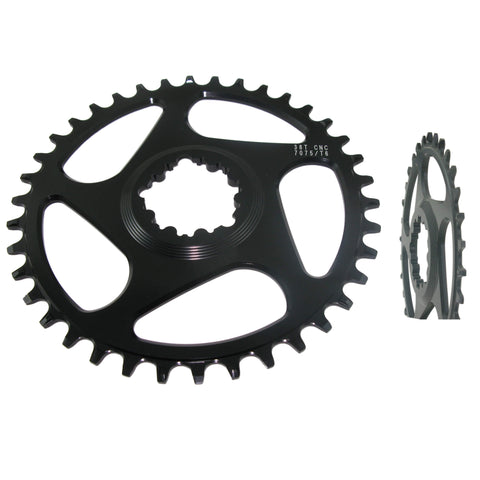 Shun MTB-04 GXP Narrow Wide Direct Mount Chainring - TheBikesmiths
