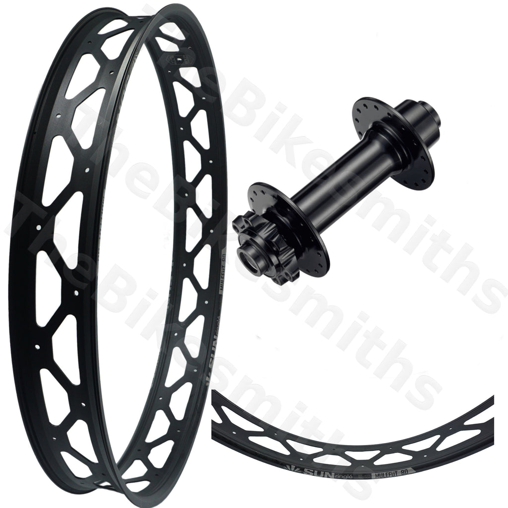 Sun Ringle Mulefut 80SL V2 Formula 150mm Fat Bike Front Wheel