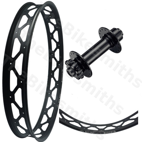 Image of Sun Ringle Mulefut 80SL V2 Formula 150mm Fat Bike Front Wheel