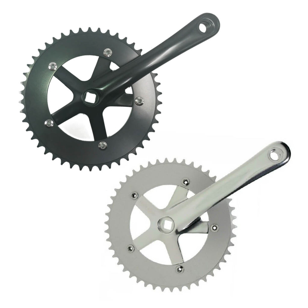 SHUN SS-8106 46t 170mm Single Speed Crank - TheBikesmiths