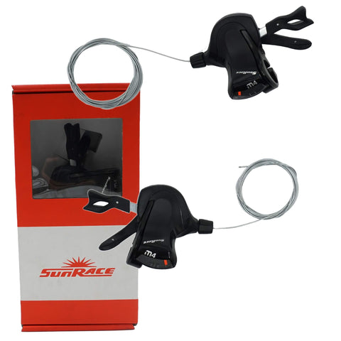 SunRace DLM400 3/8 Speed Trigger Shifter Set - TheBikesmiths