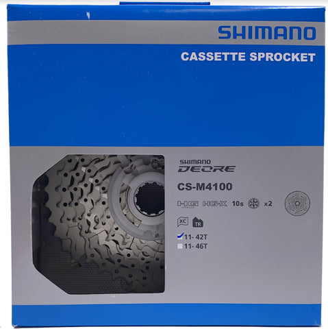 Shimano Deore CS-M4100 10 Speed Cassette