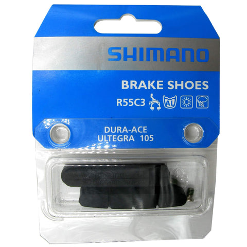 Image of Shimano R55C3 V-Brake Replacement Insert Pads - 2 Pair