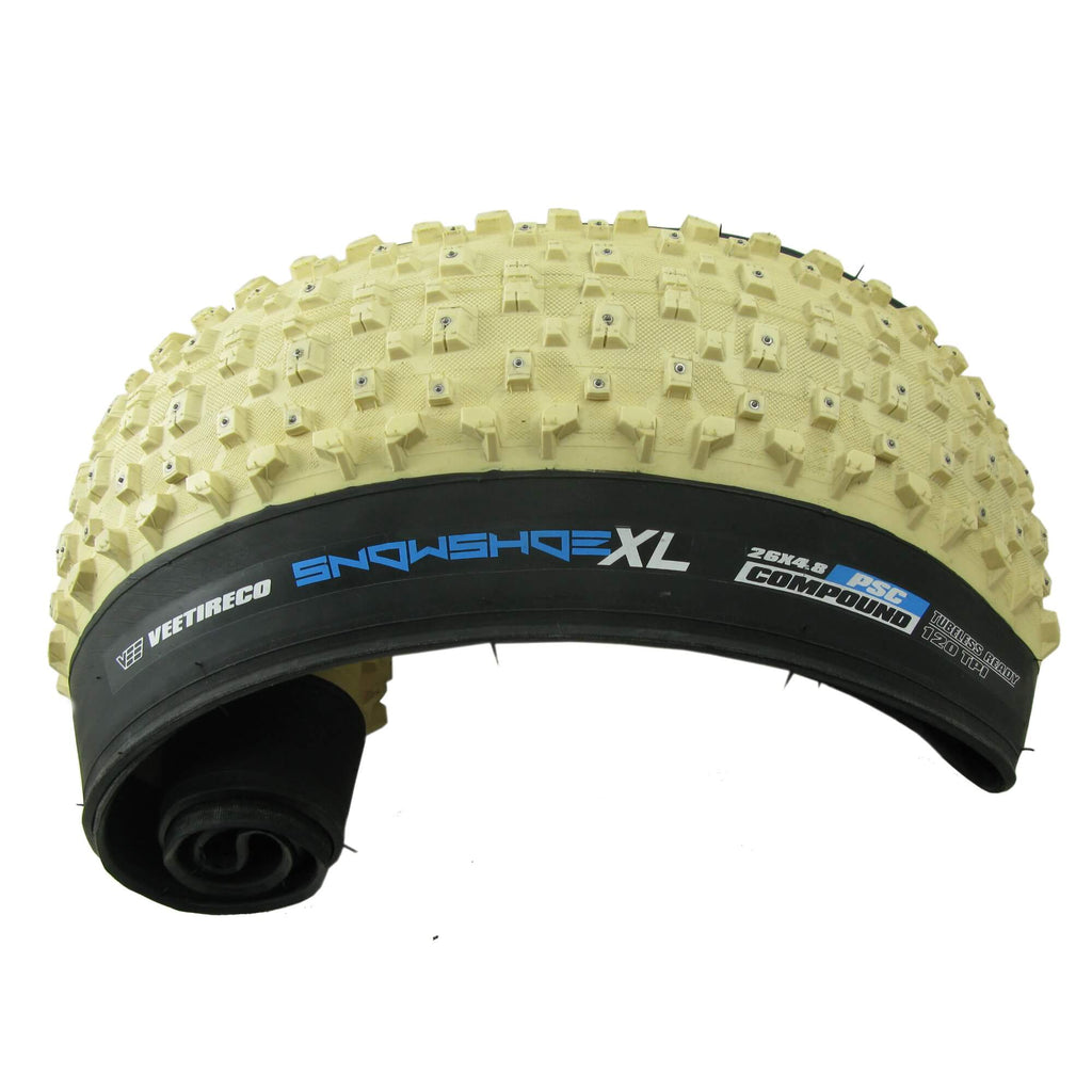 "Vee Rubber Snowshoe XL 26 x 4.8"" Fat Bike Folding Tubeless Ready Tire - TheBikesmiths"