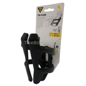 Topeak TRI-CG Tri-Cage Rear Mount Water Bottle Cage w-Tire Levers