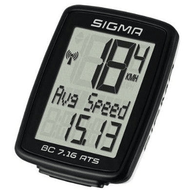 Sigma BC-7.16 ATS Wireless Computer - TheBikesmiths