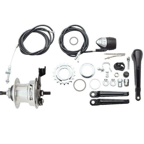 Image of Sturmey Archer X-RD3 3 Speed 117mm Rear Drum Brake Hub - TheBikesmiths