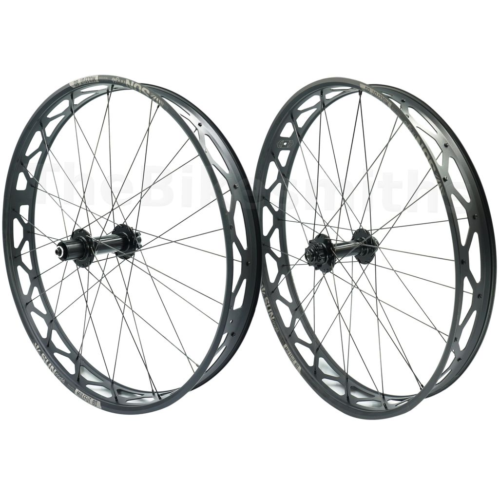 Sun Ringle MuleFut 80SL V2 Formula 150mm TA Front 190mm QR Rear Fat Bike Wheelset - TheBikesmiths