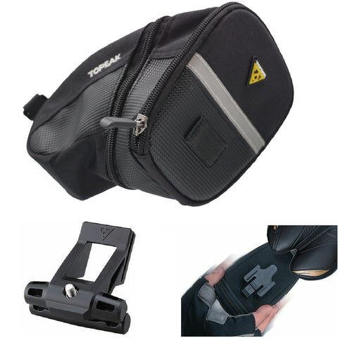 Topeak TC2253B Large Aero Wedge Seat Clip-on Bag