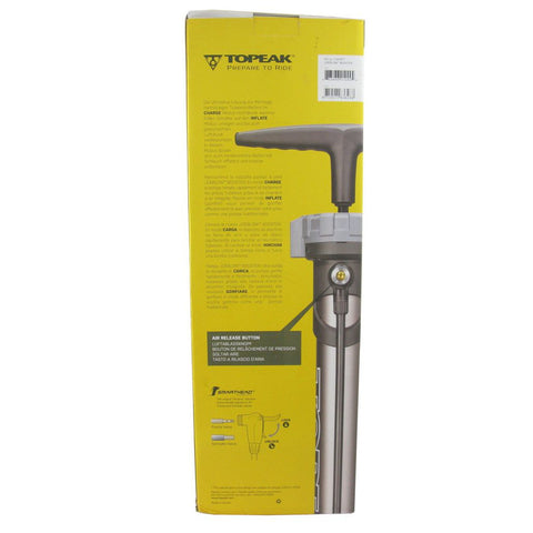 Image of Topeak TJB-BST2 Joe Blow Booster Tubeless Tire Pump (w/ charge tank)