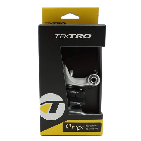 Image of Tektro Oryx Grey Cantilever Brake with Cartridge Pads