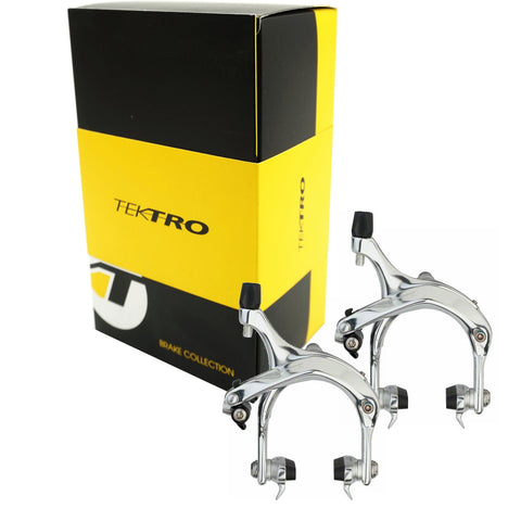 Image of Tektro R737 Road Bike Front and Rear Brake Caliper Set - TheBikesmiths