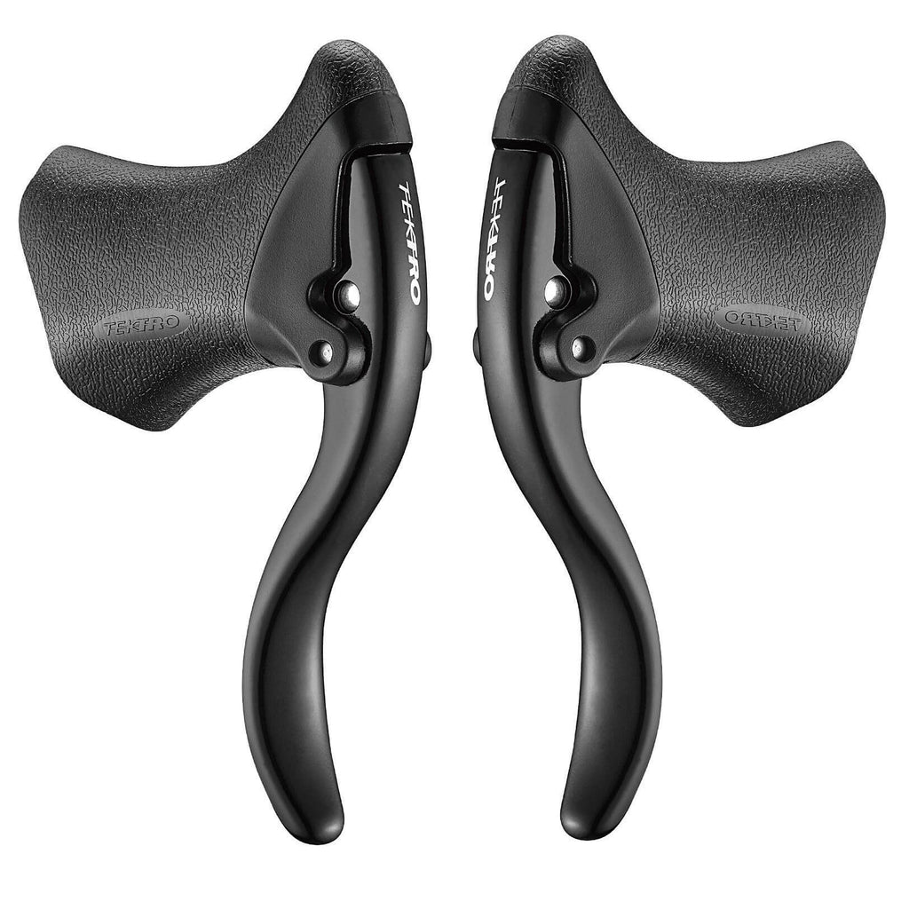 TEKTRO RL520 AERO DROP BAR BLACK BICYCLE BRAKE LEVERS FOR LINEAR BRAKES