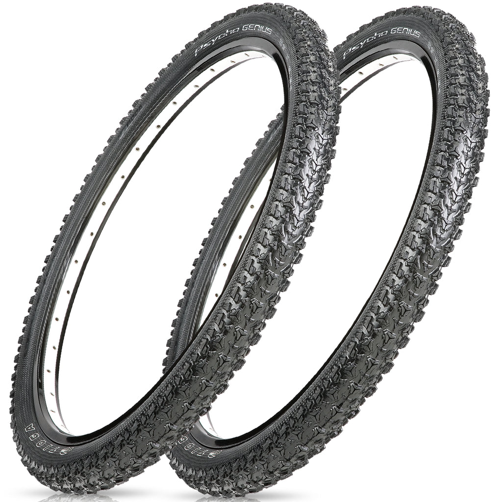 "Tioga Psycho Genius 26"" Folding Tubeless Tire"