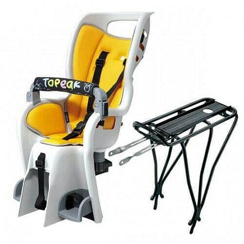 Image of Topeak TCS2204 Standard Baby Seat-II and Rack