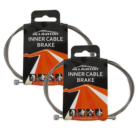 Alligator 1.5 x 1700mm Stainless Steel Brake Cable - TheBikesmiths