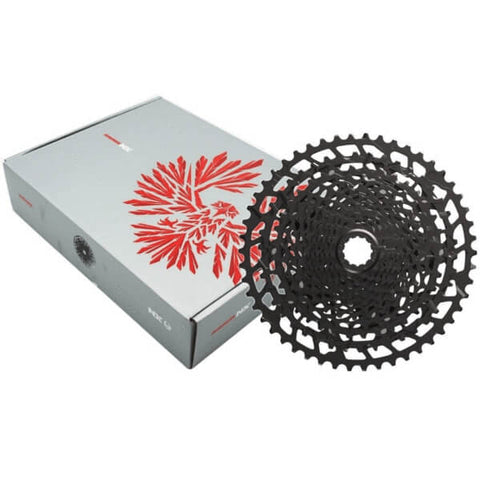 Sram Eagle GX 12 Speed 4 Piece Group Kit with Sram Eagle NX PG-1230 Cassette
