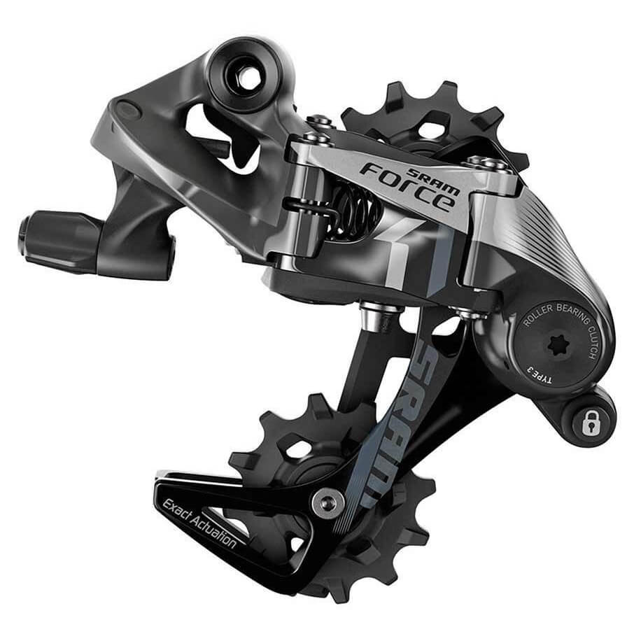 Sram Force 1 Type 3.0 11 Speed Medium Cage Rear Derailleur - TheBikesmiths