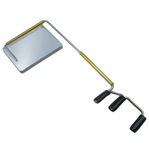 Take-a-Look Original Size Visor Mount Eyeglass Mirror - TheBikesmiths