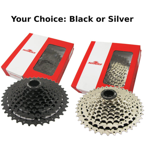 Image of SunRace CSM990 9 Speed 11-40t Cassette - TheBikesmiths