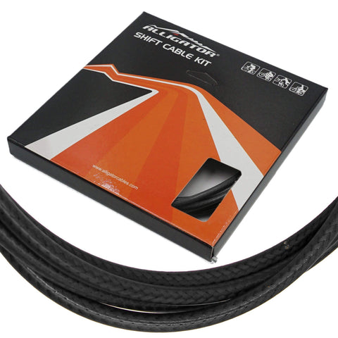 Alligator Sleek Guide 5mm PTFE/SS Shift Cable/Housing Set Front and Rear - TheBikesmiths