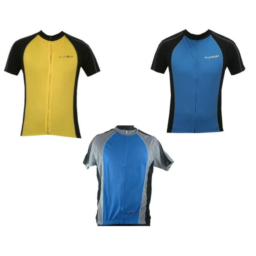 Funkier Mens Cycling Jersey J611 - TheBikesmiths