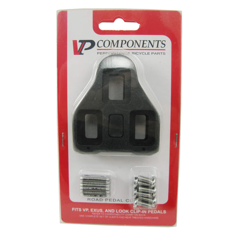 Image of VP Components VP-BLK1 Look Delta Style Cleats Black No Float