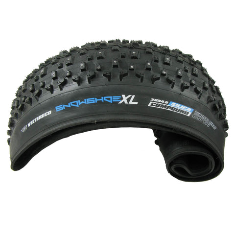"Image of Vee Rubber Snowshoe XL 26 x 4.8"" Fat Bike Folding Tubeless Ready Tire - TheBikesmiths"