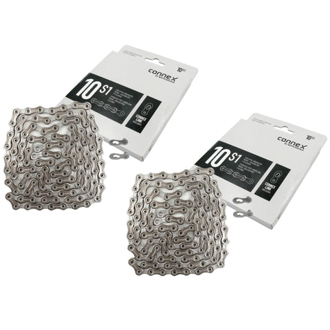 Wippermann Connex 10S1 10-Speed Hollow Pin Chain - 2 Pack