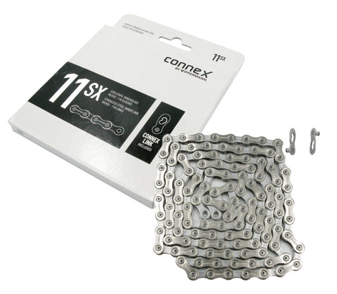 Image of Wippermann Connex 11SX 11-Speed Stainless Steel Chain - TheBikesmiths
