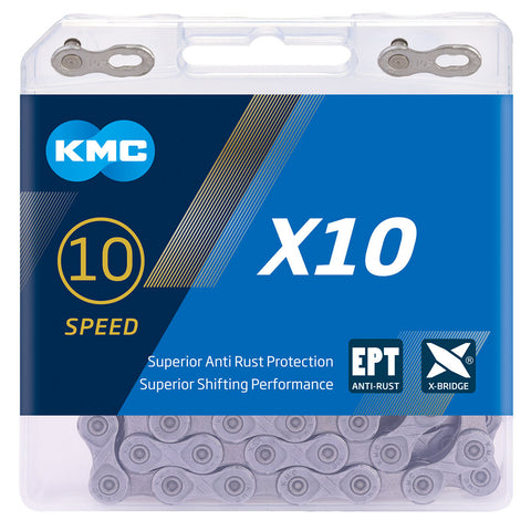 Image of KMC X10 EPT Eco Proteq 10 Speed Chain