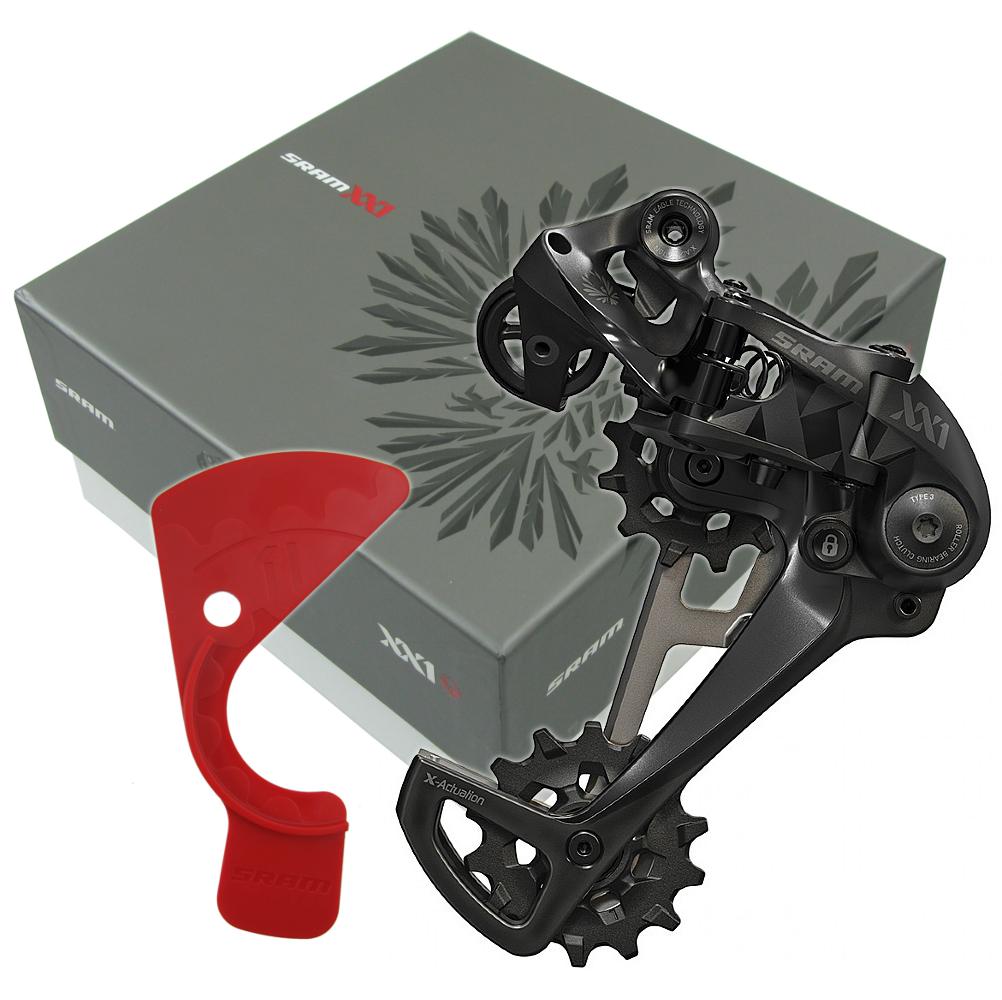 SRAM Eagle XX1 Black 12 Speed Groupset with X01 XG-1295 10-50t X-DOME Cassette - TheBikesmiths
