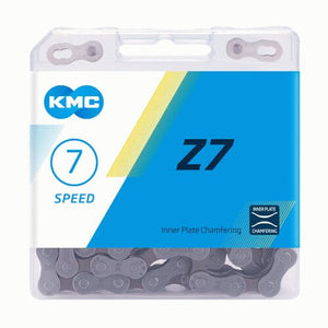 KMC Z7 5-7 Speed Silver Chain - TheBikesmiths