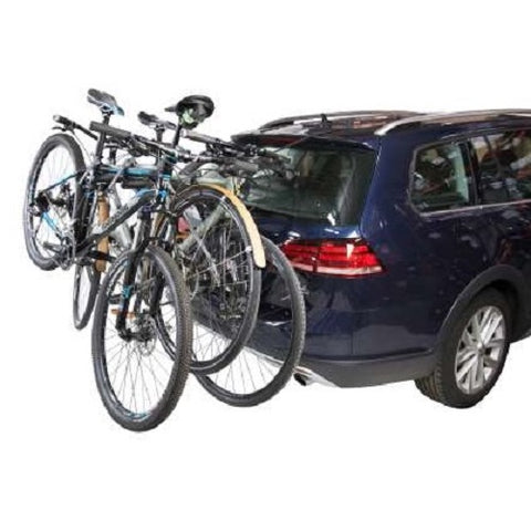 Saris 803 Bones EX 3-Bike Trunk Rack Black