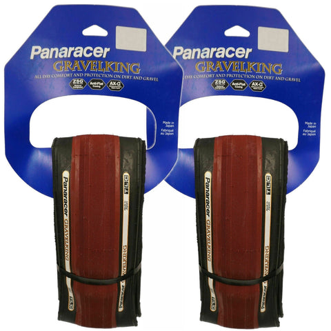 Image of Panaracer Gravel King TLC Limited Edition 700c Tubeless Ready Road Tire - 2 Pack - TheBikesmiths