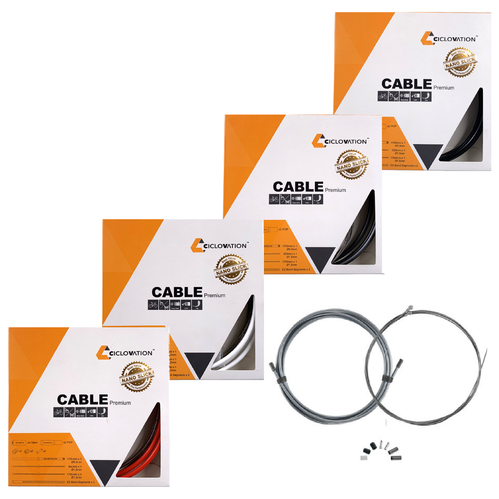 Ciclovation Pro Premium Slick Brake Cable Kit 5mm