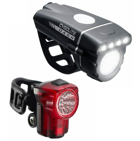 Image of Cygolite Combo Dash 520 / Hotshot Micro 30 USB Rechargeable Front & Rear Light