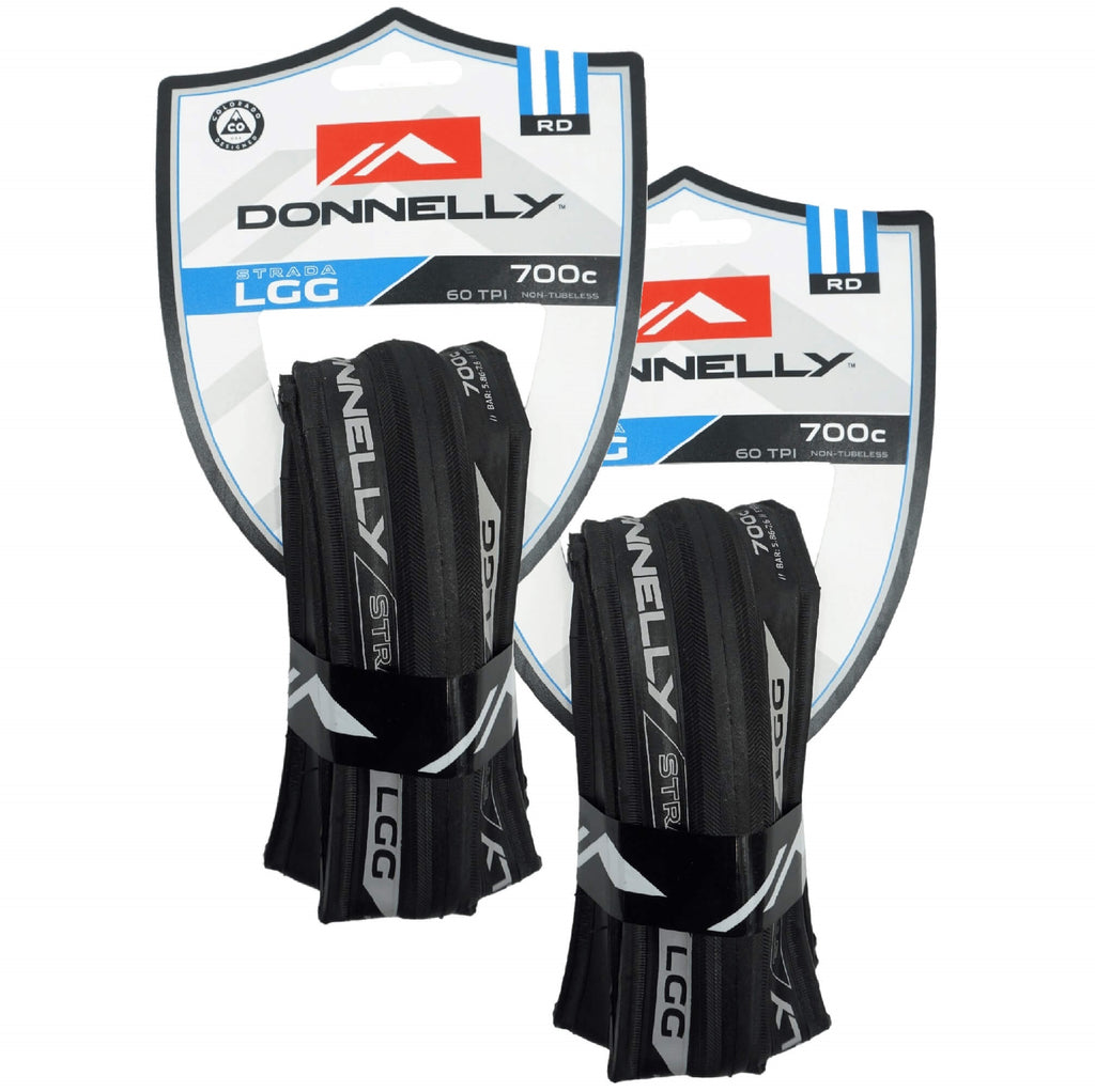 Donnelly Strada LGG 60tpi 700x25 Folding Tire - TheBikesmiths