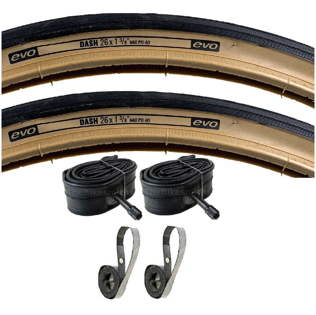 Vee Rubber Evo Dash 26x1-3/8 Tire and Inner Tube Kit   ISO 37-590
