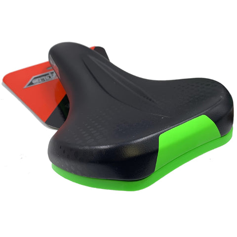 End Zone City unisex comfort saddle double density gel with indent