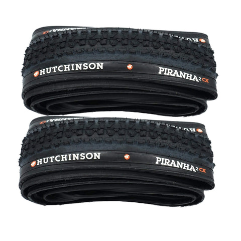 Image of Hutchinson Pirahna-2 CX 700x32c Folding Tire - 2 Pack - TheBikesmiths