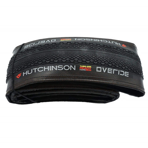 Image of Hutchinson Overide 700x35c Tubeless Ready Folding Tire - Single - TheBikesmiths