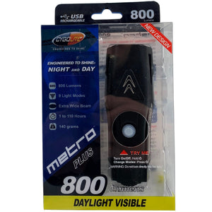 Cygolite Metro Plus 800 Lumen USB Rechargeable Headlight