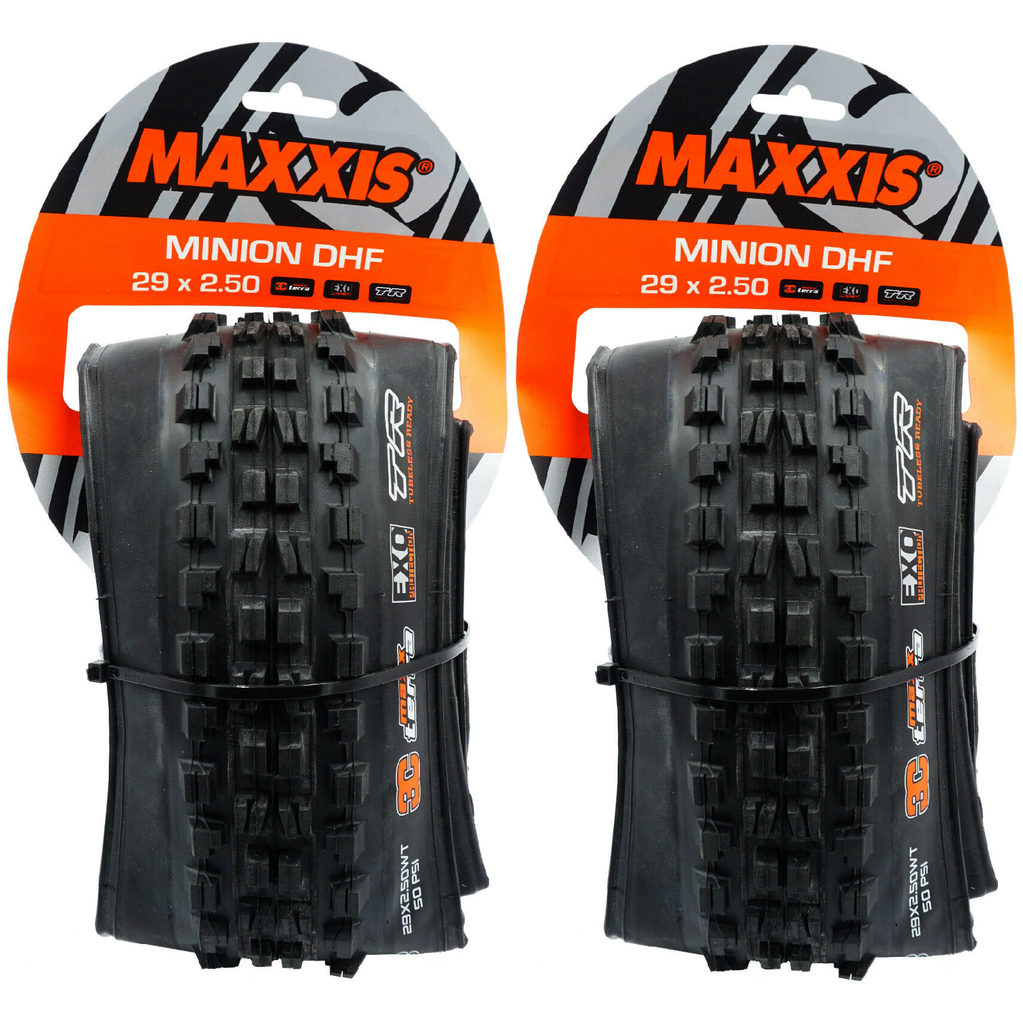 Maxxis Minion DHF 29x2.5 3C EXO Tubeless Ready Wide WT Folding Tire - TheBikesmiths
