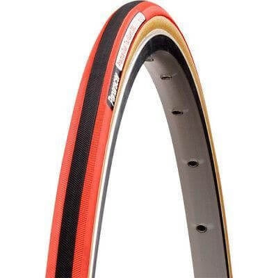 Image of Panaracer Practice Red Dual Tour Guard 300 700x22 TubularTire - TheBikesmiths
