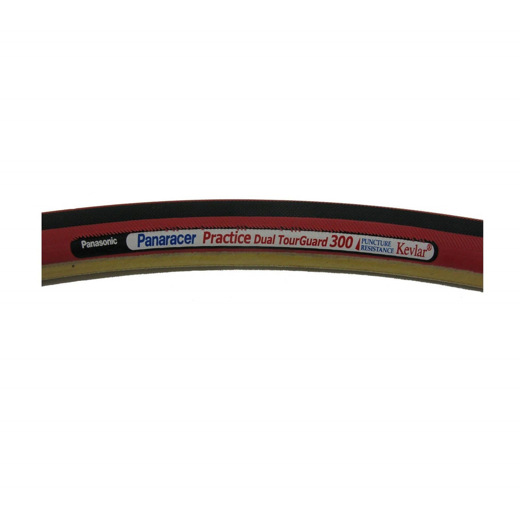 Panaracer Practice Red Dual Tour Guard 300 700x22 TubularTire - TheBikesmiths