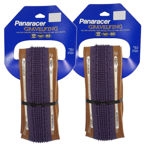 Image of Panaracer Gravel King SK TLC Limited Edition 700c Tubeless Ready Tire - 2 Pack - TheBikesmiths