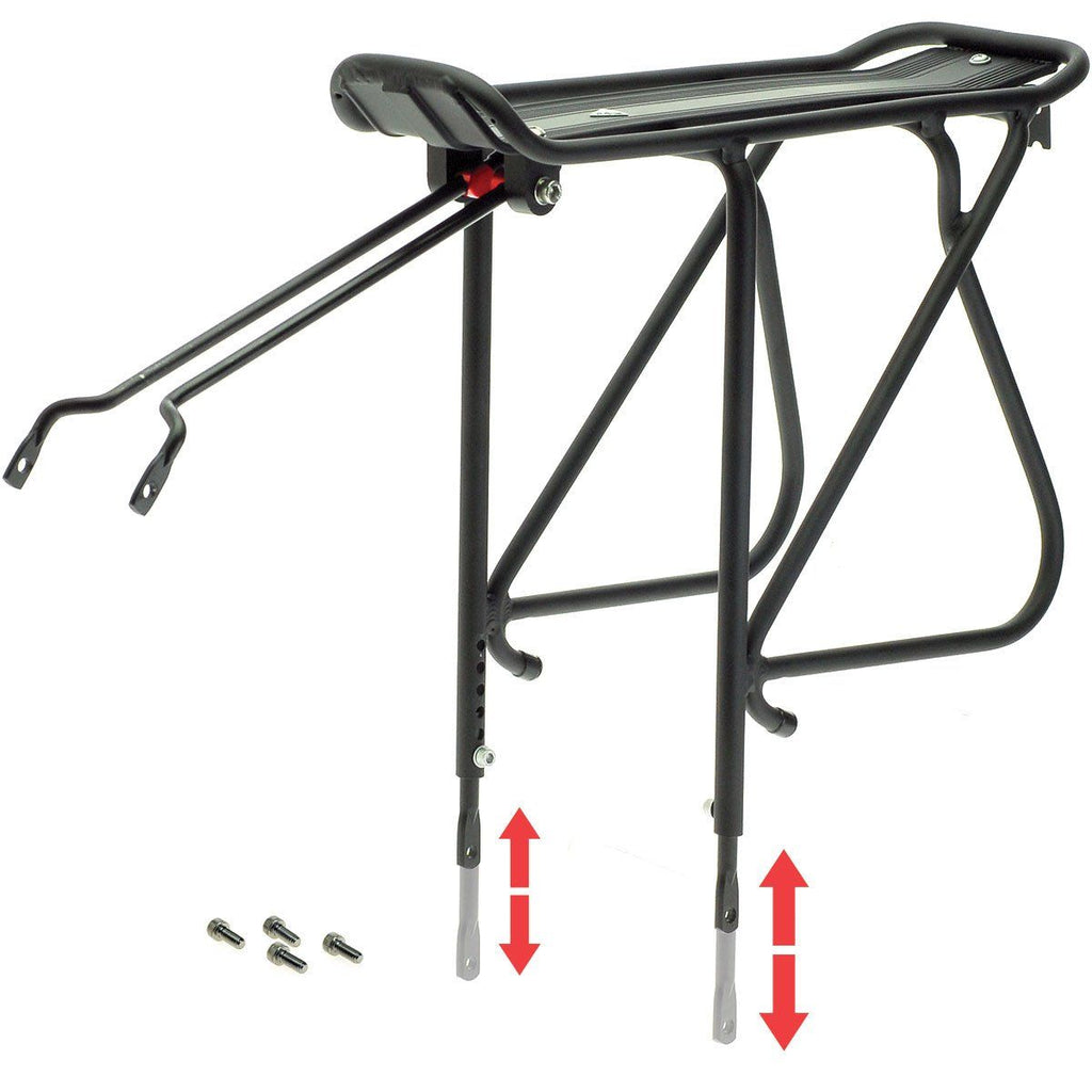"Axiom Journey Adjustable 2429 Rear Rack 24""-29"" - TheBikesmiths"