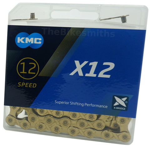 KMC X12-TI 12 Speed Chain - TheBikesmiths